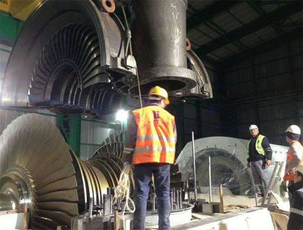 850 MWe Gebze Yeni Elektrik Üretim AŞ Santrali