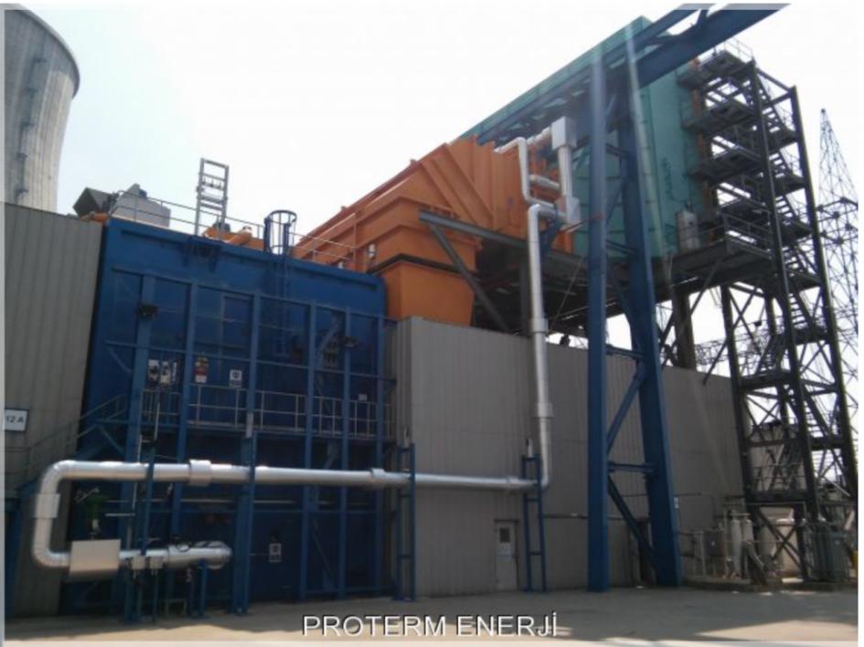 2310 MW ENKA Adapazarı Gebze Elektrik Üretim Santrali Advanced Gas Path Upgrade Çalışması