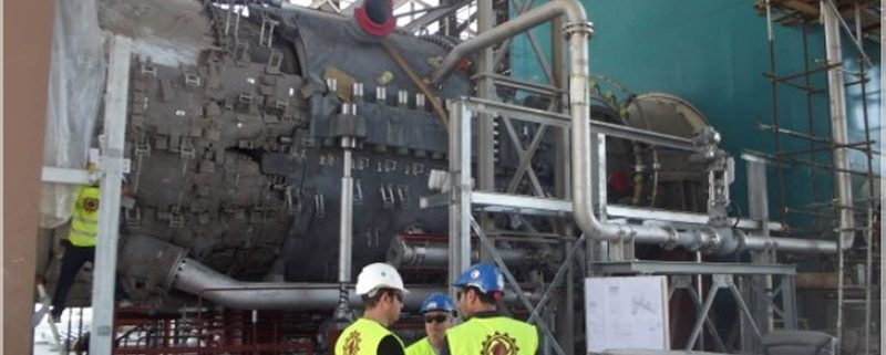GAS TURBINE AND GENERATOR INSTALLATION